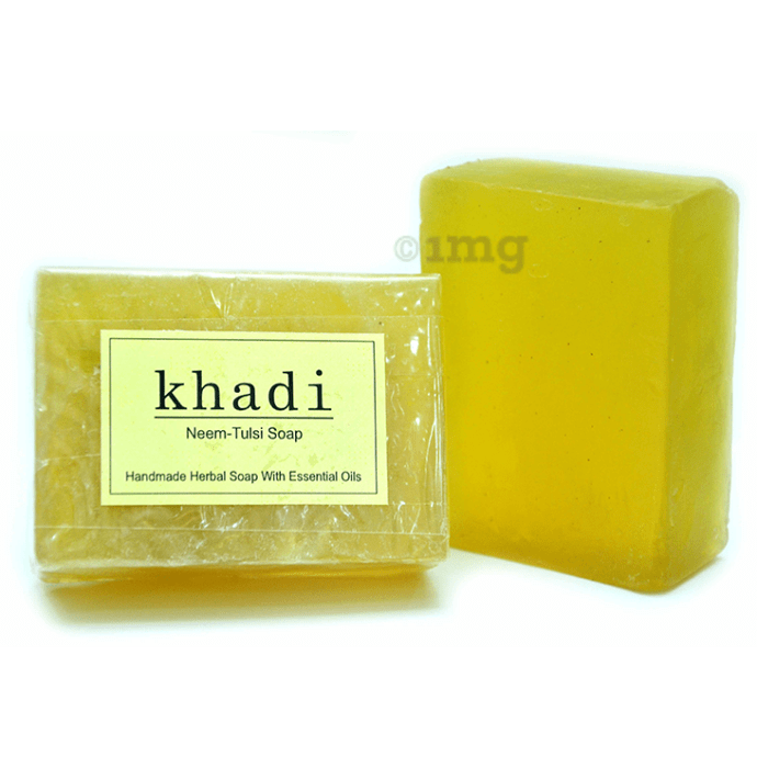 Vagad's Khadi Neem-Tulsi Soap