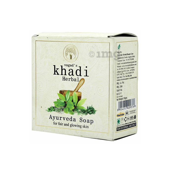 Vagad's Khadi Herbal Ayurveda Soap