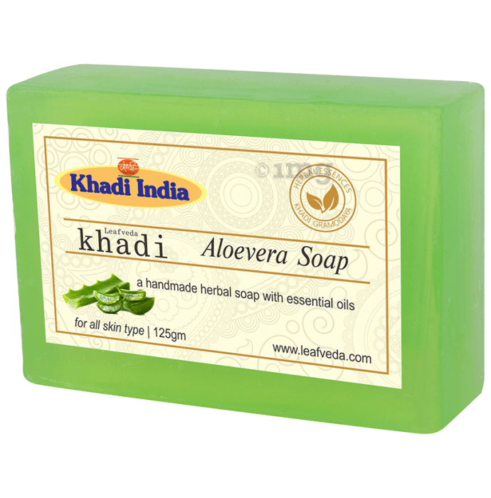 Khadi Leafveda Aloevera Soap