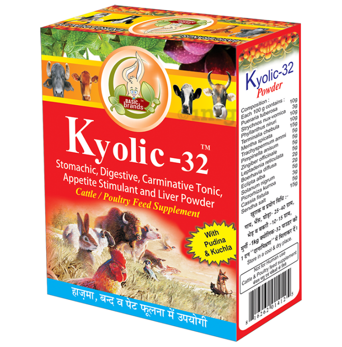 Basic Ayurveda Kyolic-32 Powder