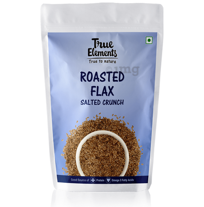 True Elements Roasted Flax Seeds Salted Crunch