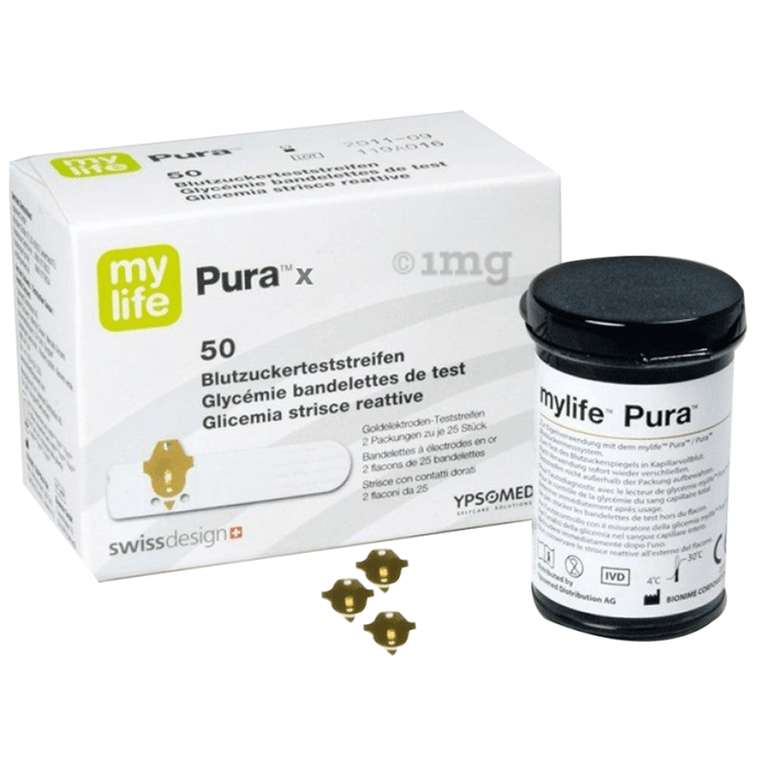 MyLife Pura X Blood Glucose Test Strip