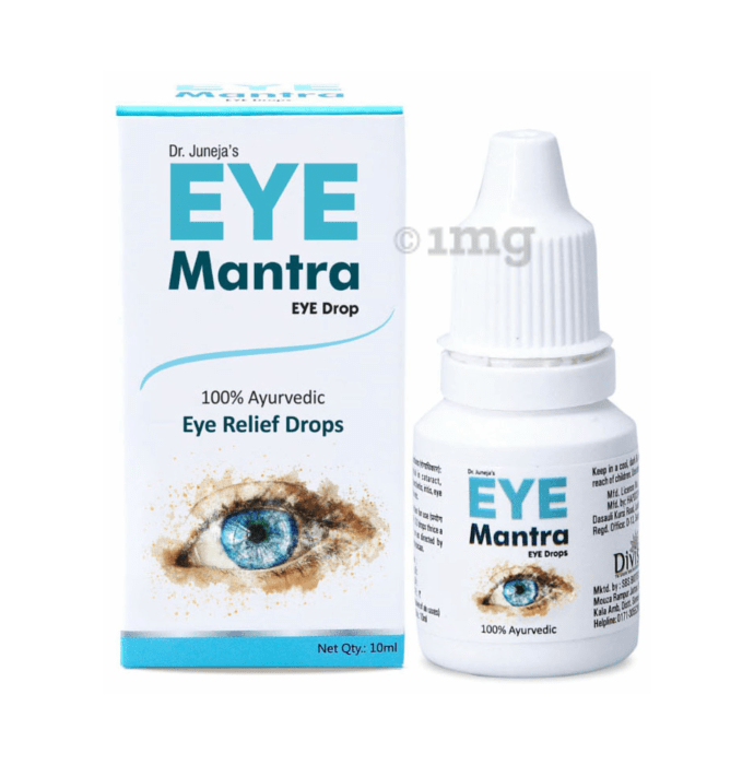 Divisa Herbal Eye Mantra Eye Drop
