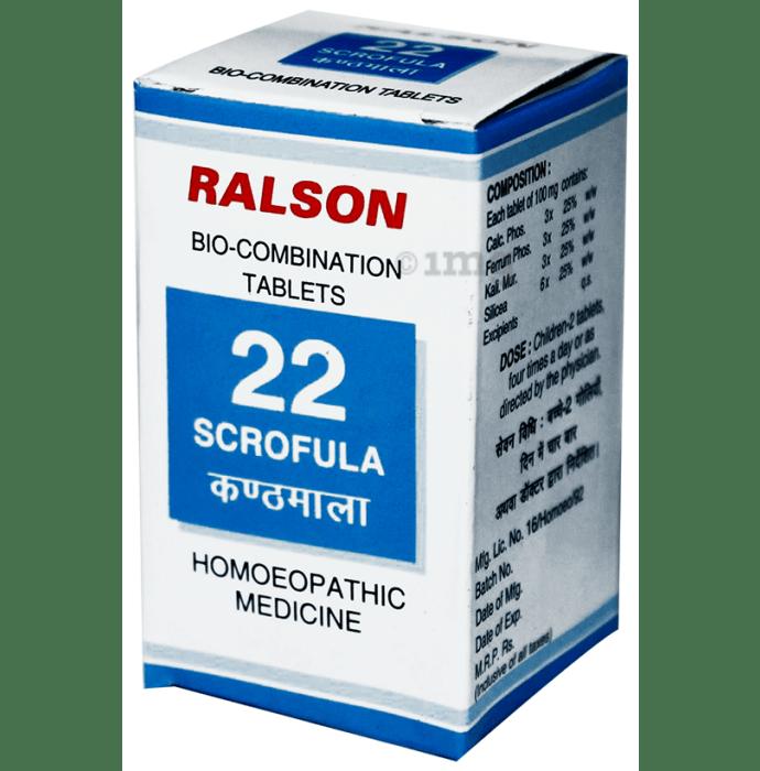 Ralson Remedies Bio-Combination 22 Tablet