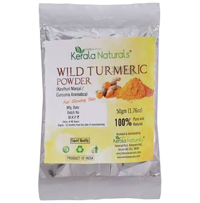 Kerala Naturals Wild Turmeric Powder