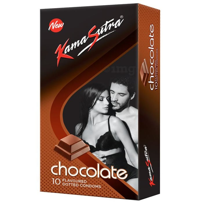 KamaSutra Dotted Condom Chocolate