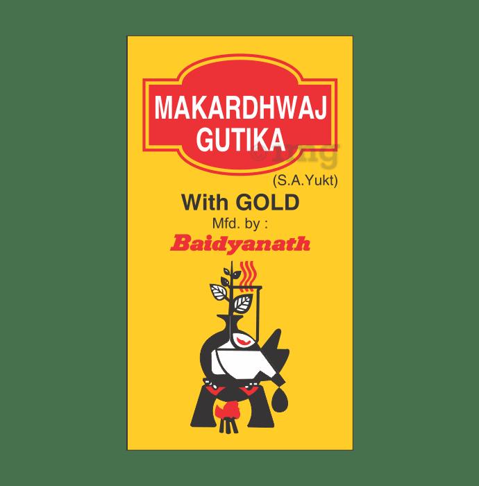 Baidyanath Makardhwaj Gutika (with Gold)