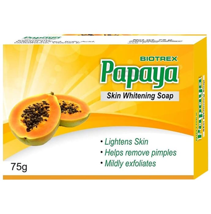 Biotrex Papaya Skin Whitening Soap