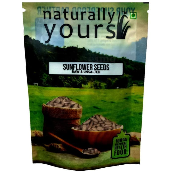 Naturally Yours Sunflower Seeds Raw and Unsalted