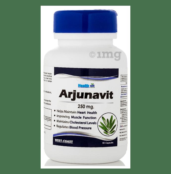 HealthVit Arjunavit 250mg Capsule