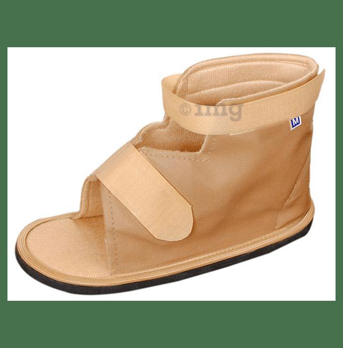 Medtrix Surgical Shoe Cast Orthopedic Boot Medium Beige
