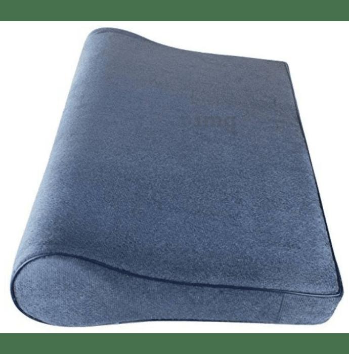 Medtrix Cervical Pillow Spondylosis Neck and Back Pain Support Universal Grey