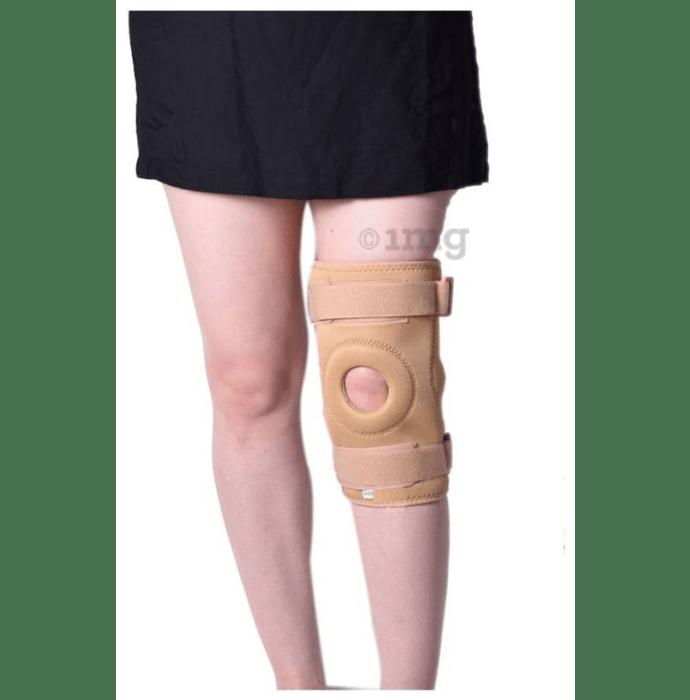 Medtrix Functional Open Patella Hinge Knee Support Large Beige