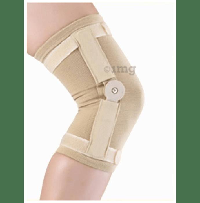 Medtrix Hinged Knee Cap Medium Beige Premium