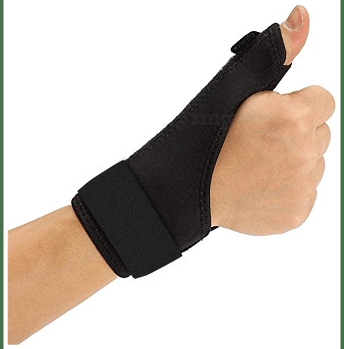 Medtrix Thumb Spica Splint Universal Black
