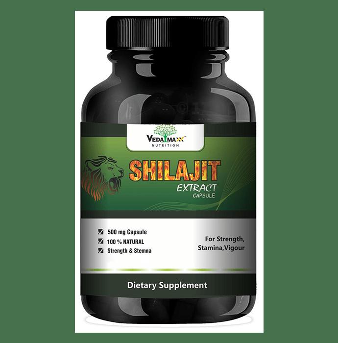 Veda Maxx Nutrition Shilajit Extract 500mg Capsule
