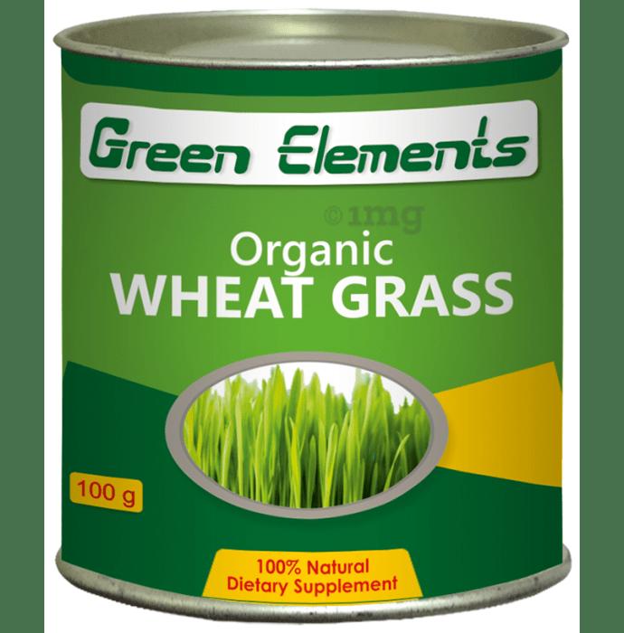 Green Elements Organic Wheat Grass Powder