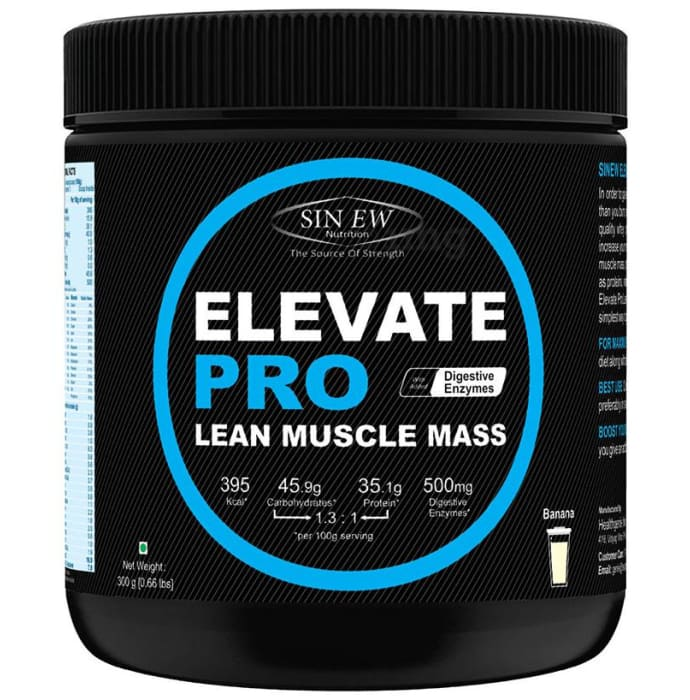 Sinew Nutrition Elevate Pro Lean Muscle Mass Banana