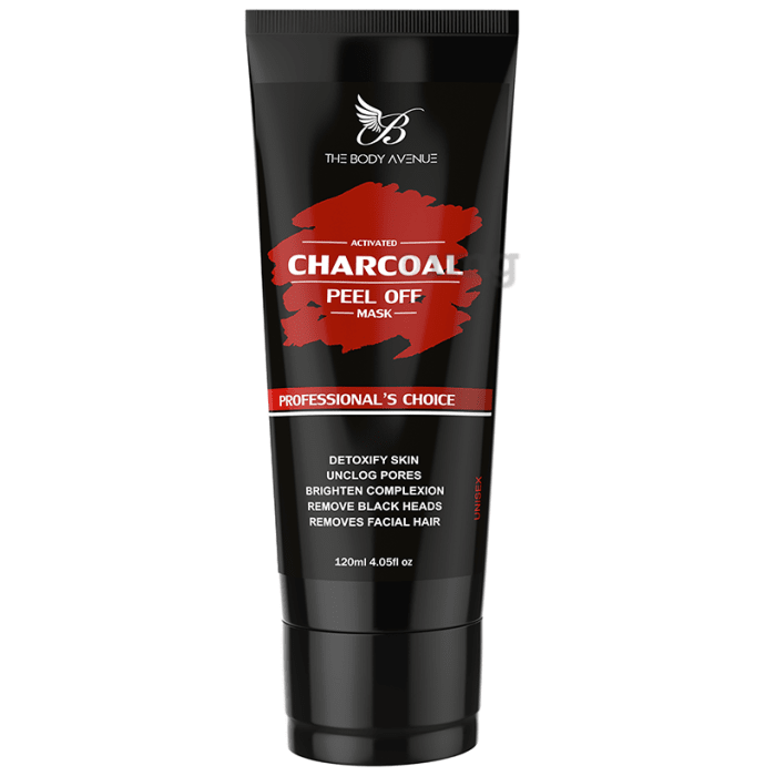 The Body Avenue Charcoal Peel Off Mask