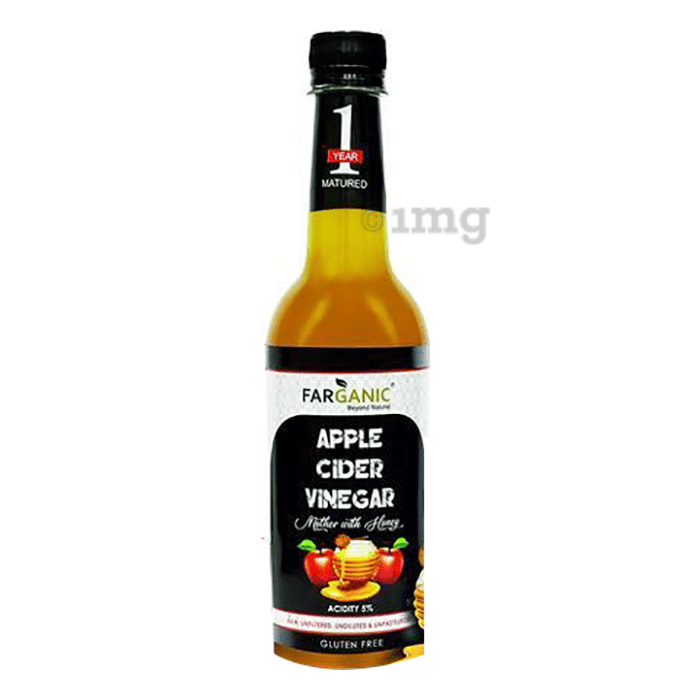Farganic Apple Cider Vinegar Mother with Honey