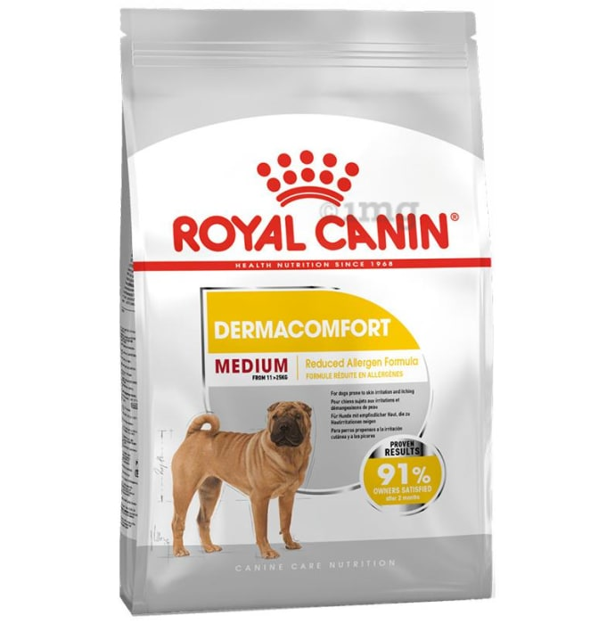 Royal Canin Medium Dog Pet Food Dermacomfort