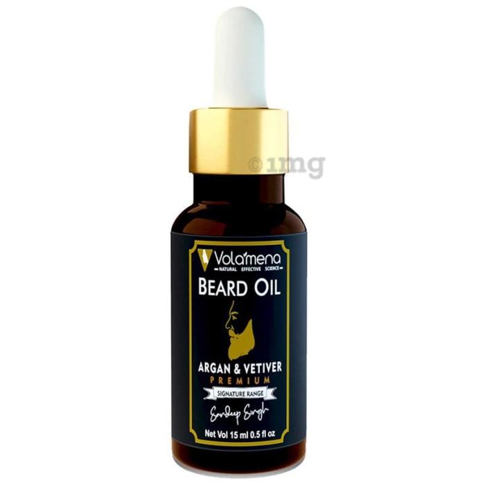 Volamena Argan & Vetiver Beard Oil