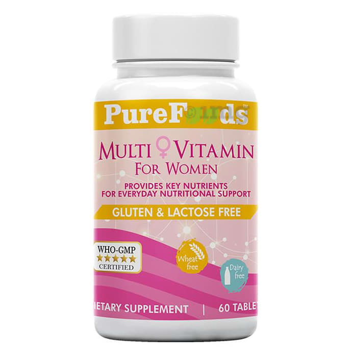 PureFoods Multi Vitamin for Women Gluten Free