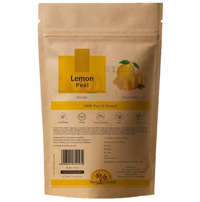 Herb Essential Lemon Peel Powder