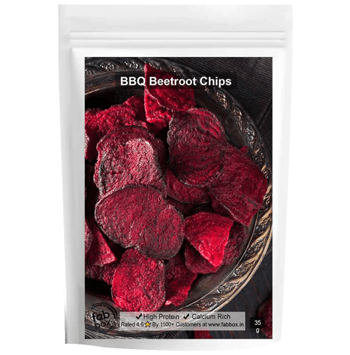 Fabbox BBQ Beetroot Chips