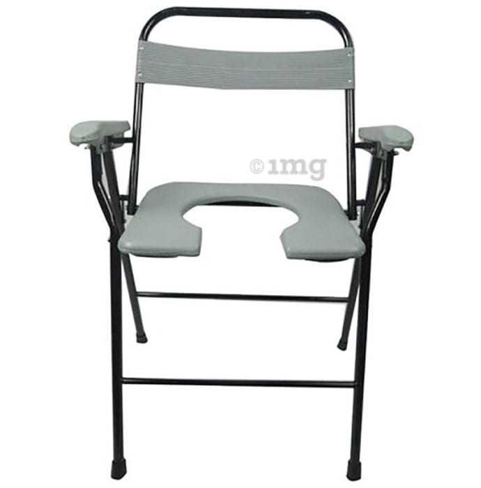 Medtrix Foldable Commode Chair Assorted