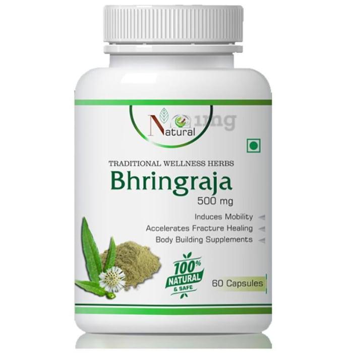 Natural Bhringraja 500mg Capsule