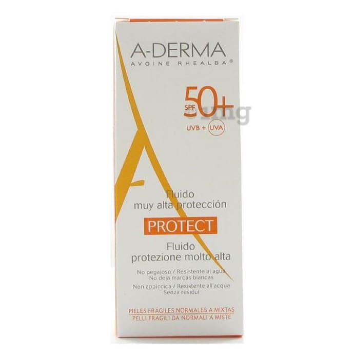 A-Derma Protect Fluid Cream SPF 50+