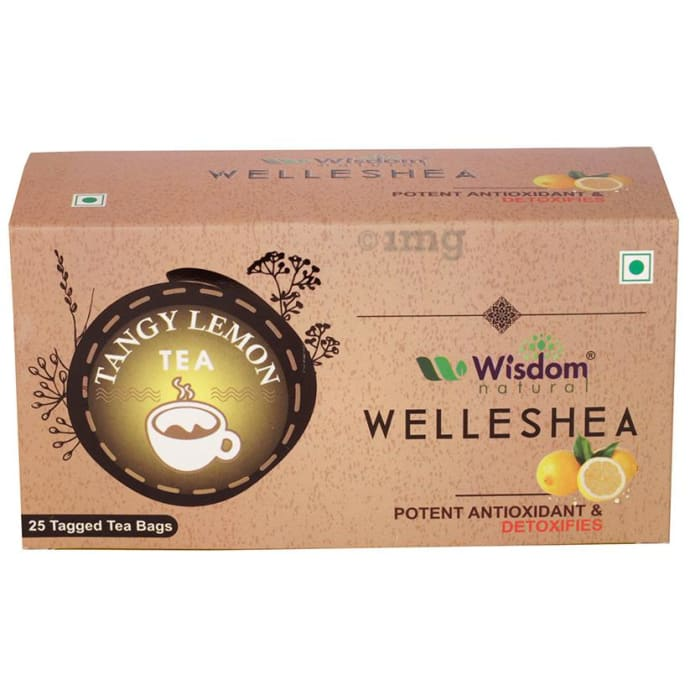 Wisdom Natural Welleshea Tea Tangy Lemon