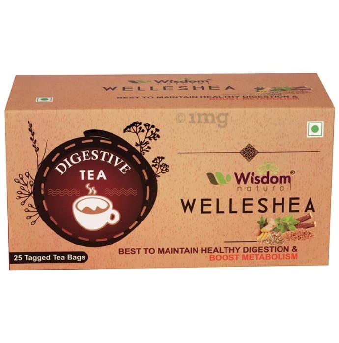 Wisdom Natural Welleshea Tea Digestive