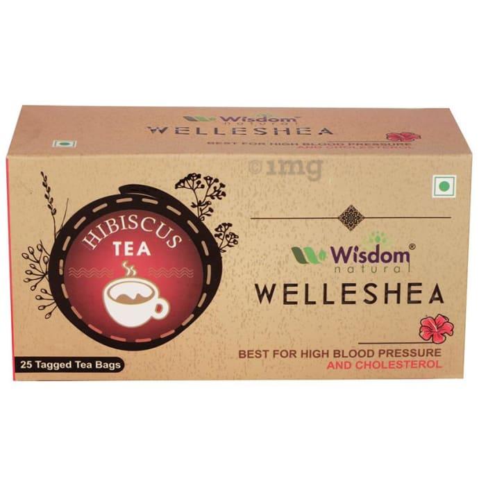 Wisdom Natural Welleshea Tea Hibiscus