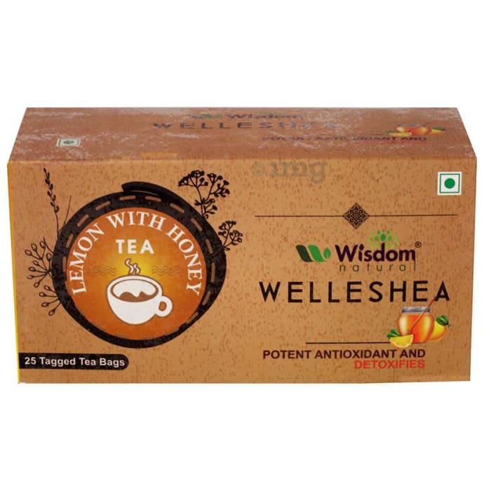 Wisdom Natural Welleshea Tea Honey & Lemon