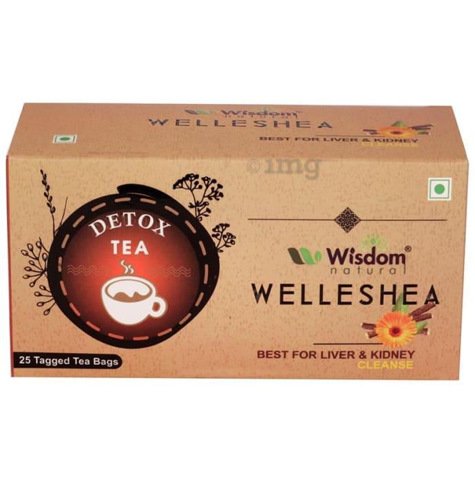 Wisdom Natural Welleshea Tea Detox