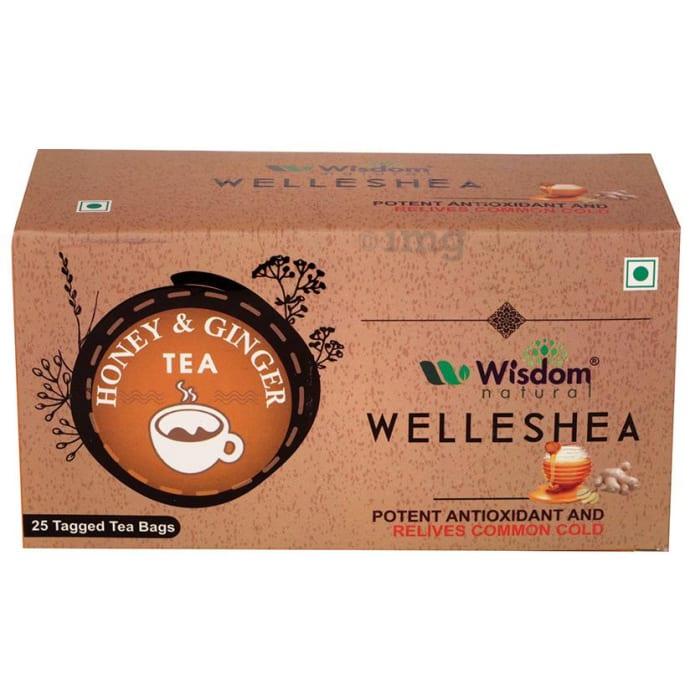 Wisdom Natural Welleshea Tea Honey & Ginger