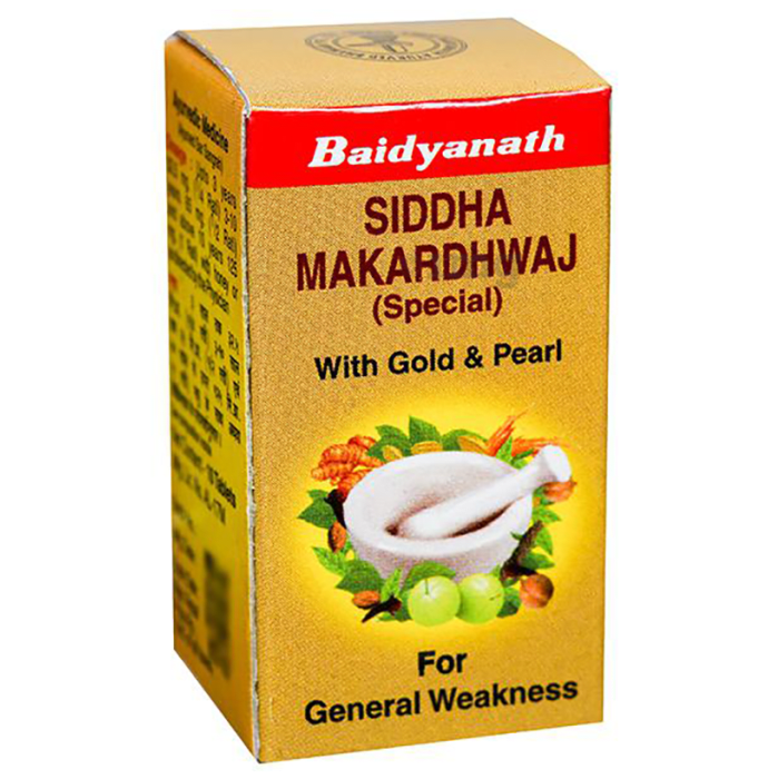 Baidyanath Siddha Makardhwaj Special With Gold and Pearl