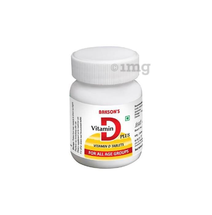 Bakson's Vitamin D Plus Tablet