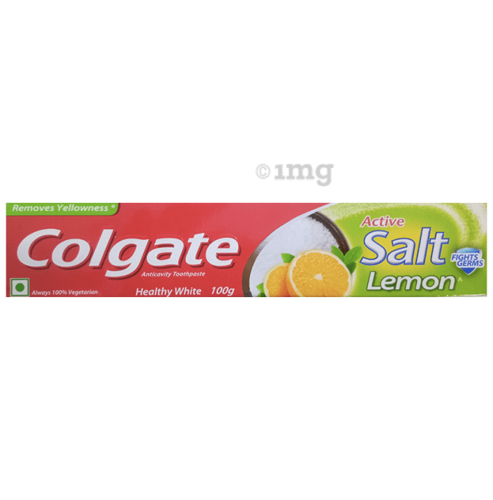 Colgate Active Salt Lemon Toothpaste
