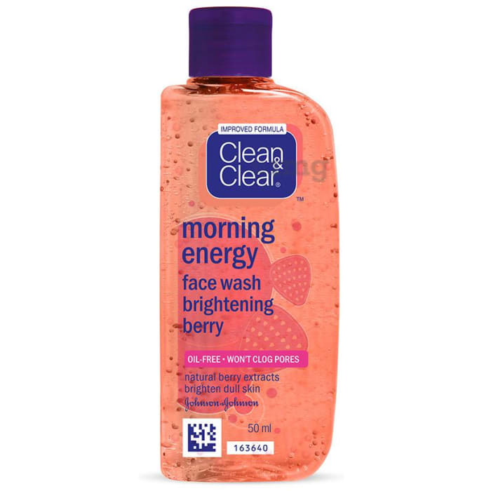 Clean & Clear Morning Energy Face Wash Brightening Berry