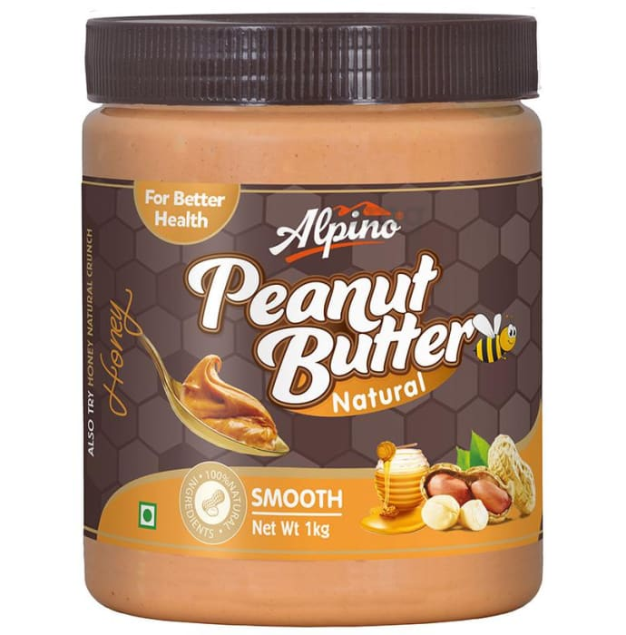 Alpino Natural Smooth Honey Peanut Butter