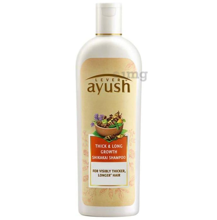 Lever Ayush Shampoo Thick & Long Growth Shikakai
