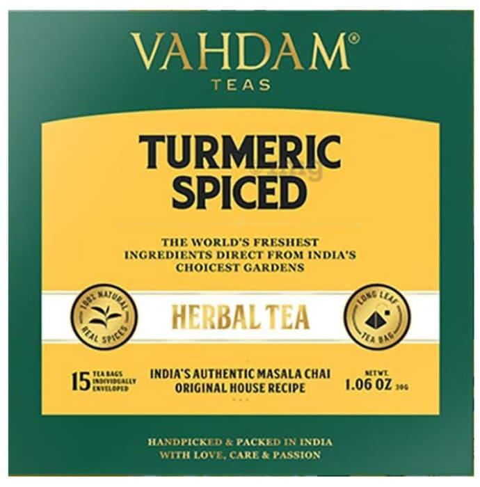 Vahdam Teas Herbal Tea Tisane (2gm Each) Turmeric Spiced