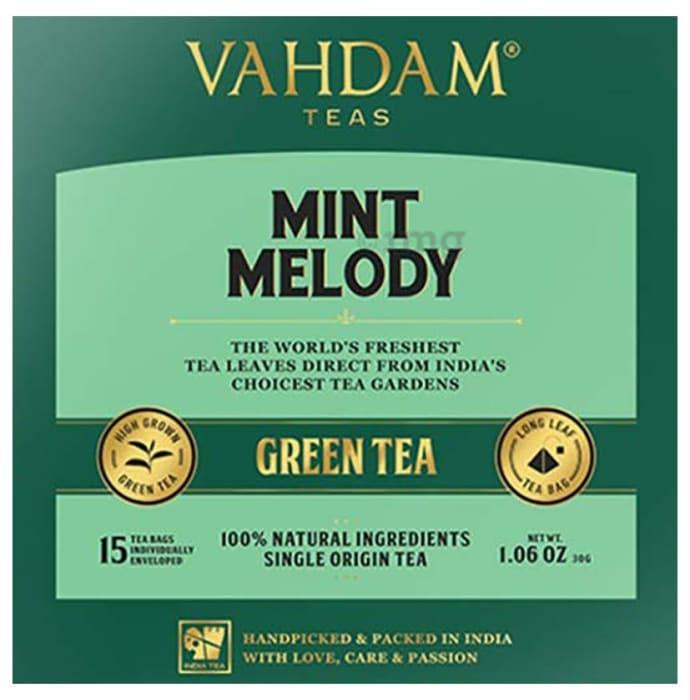 Vahdam Teas Green Tea (2gm Each) Mint Melody
