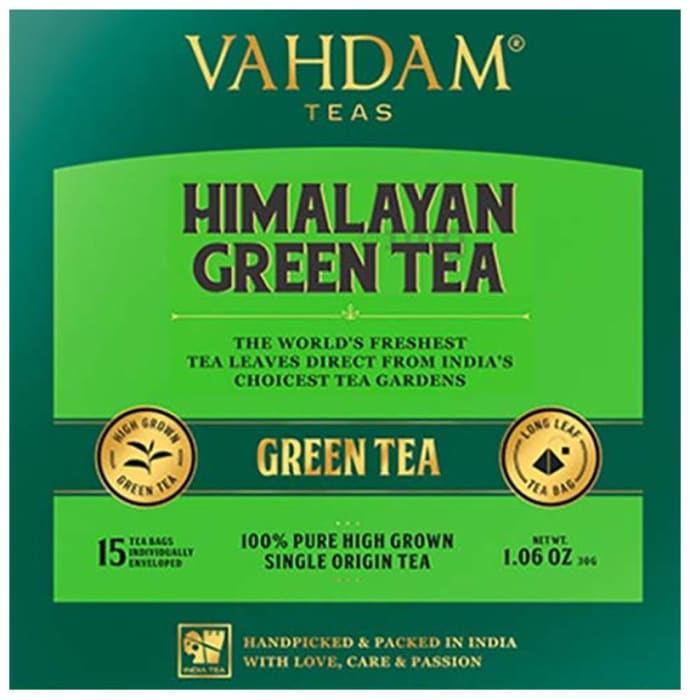 Vahdam Teas Green Tea (2gm Each) Himalayan Green Tea