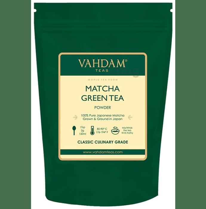Vahdam Matcha Teas Green Tea Powder