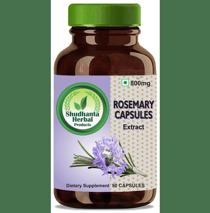 Shudhanta Herbal Rosemary 800mg Capsule