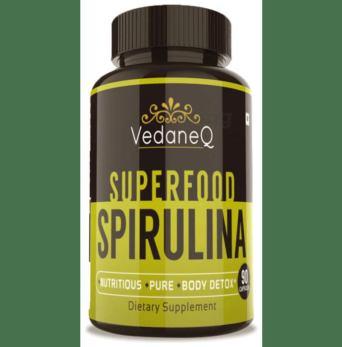 VedaneQ Superfood Spirulina Capsule